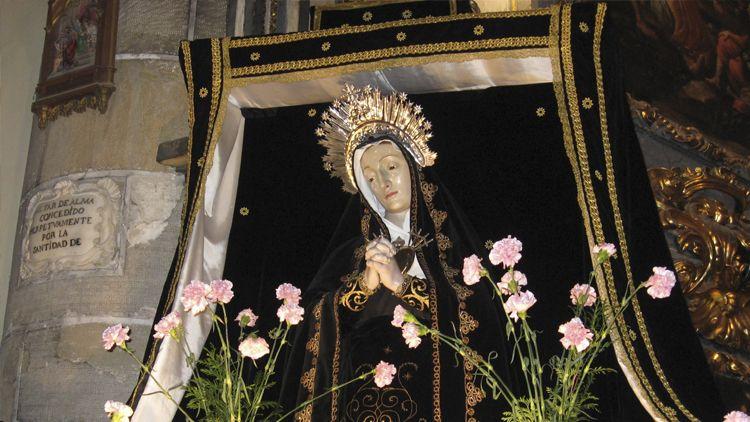 Virgen de los dolores patrona de Atienza