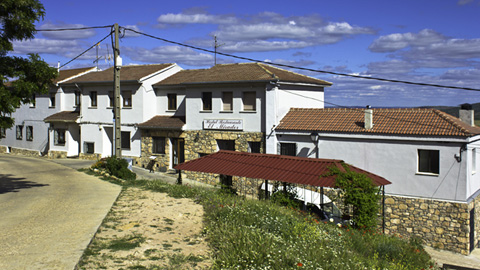 el mirador de atienza hostal rural fachada entrada general
